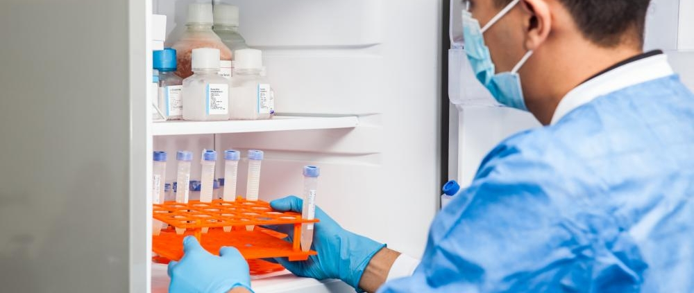 storing critical samples in lab